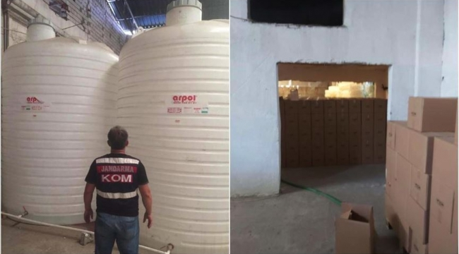 Olası kastla adam öldürme suçundan:'Sahte içki operasyonunda İzmir'de 10 tutuklama'