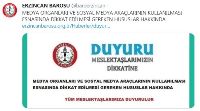 Barodan avukatlara 'reklam' uyarısı: Sosyal medya paylaşımlarınıza dikkat edin!