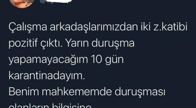 İzmir Hakimi Ayşe Sarısu Pehlivan'dan bilgilendirme paylaşım