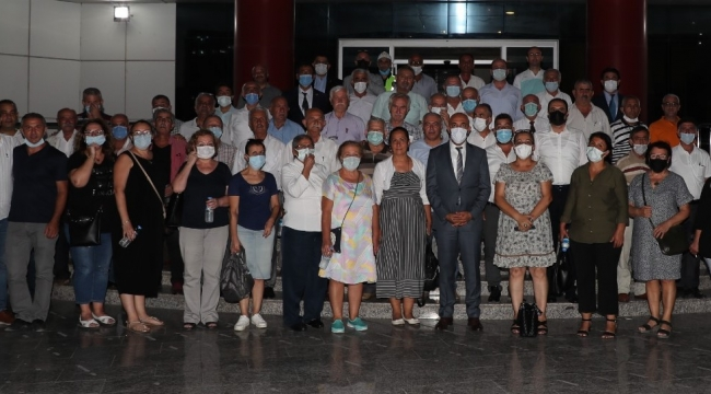 İzmir Emniyet Müdürü Mehmet Şahne bu kez Karabağlar İlçe 'Muhtarlar'ıyla bir araya geldi