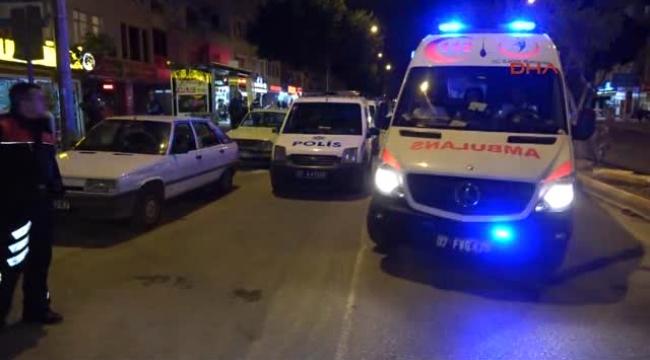 5 kişi yaralandı:'Adliye bahçesinde bıçaklı kavga'